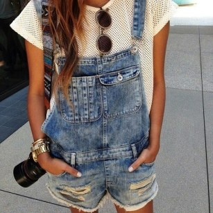 dungarees!