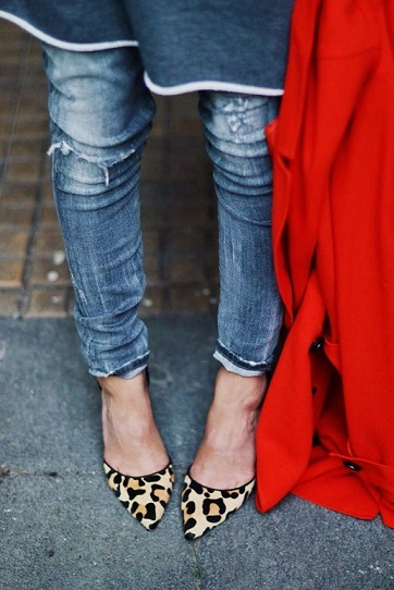 Animal Printed shoes