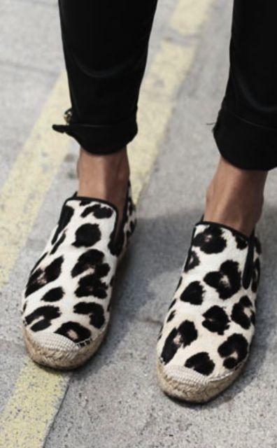 Celine leopard shoes