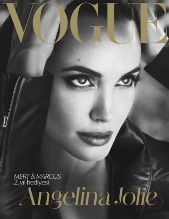 Jolie at Vogue