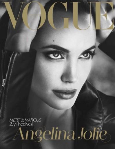 Jolie at Vogue